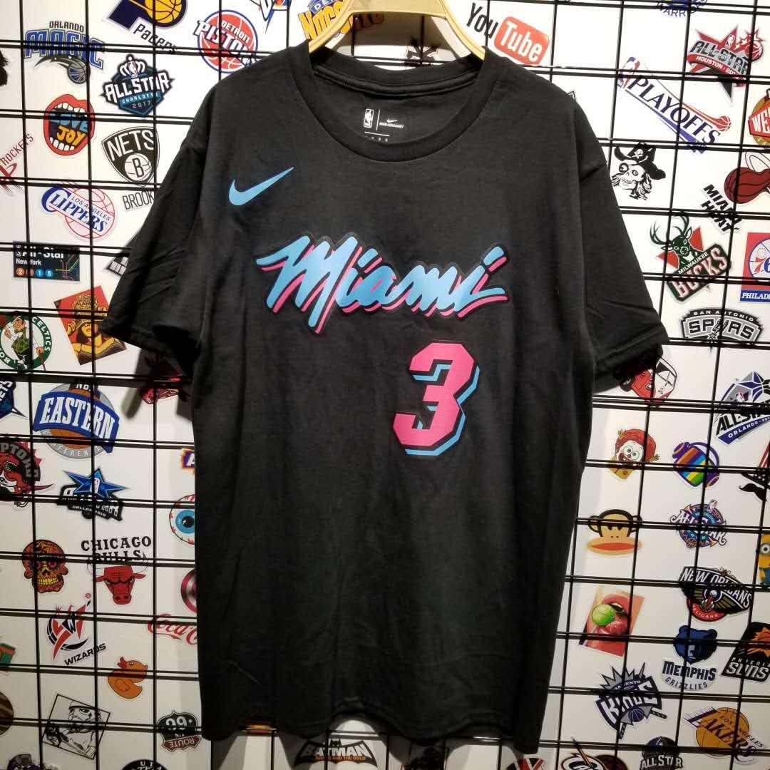 Заказать поиск футболки Wade Miami Heat Vice Nights Tee