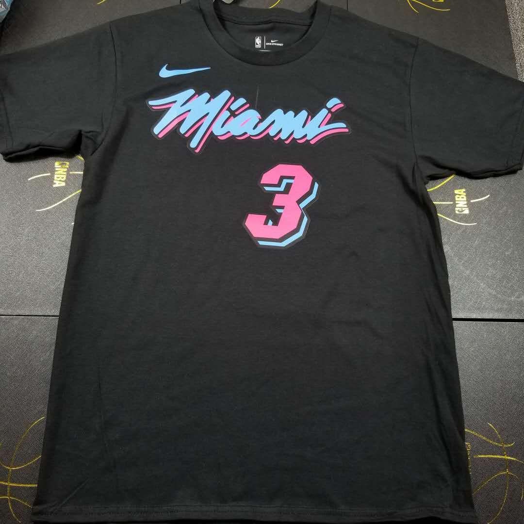 2018-19 Wade Miami Heat Vice Nights Tee
