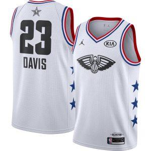 Заказать поиск джерси 2018-19 Davis Pelicans #23 All-Star White