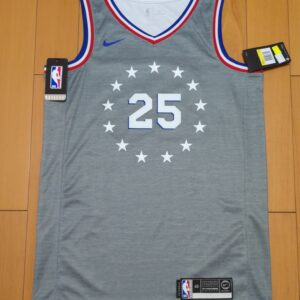 2018-19 Ben Simmons 76ers #25 City Gray