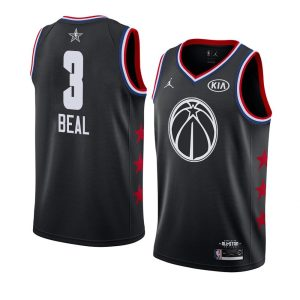 2019 NBA All-Star Wizards Bradley Beal #3 Black Swingman Jersey