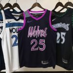 2018-19 Derrick Rose Timberwolves #25 City Purple-2