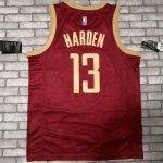 2018-19 James Harden Rockets #13 City Red-4