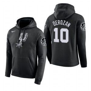 Заказать поиск худи 2018 DeMar DeRozan Spurs #10 Black City с бесплатной доставкой.
