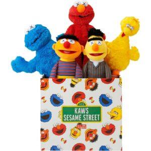Заказать поиск игрушек KAWS x Sesame Street Toys