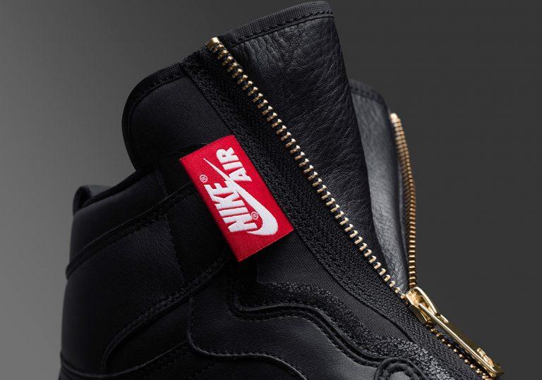 Золотые молнии - финальный штрих Air Jordan 1 для высокой моды