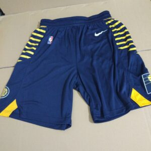 2018-19 Indiana Pacers Navy Icon Shorts