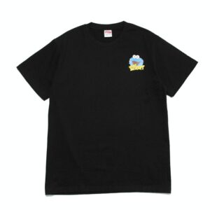 2019 KAWS x Sesame Street Cookie Monster Tee Black