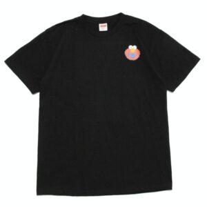 Заказать поиск футболки 2019 KAWS x Sesame Street Elmo Tee Black