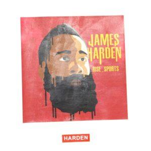 Заказать поиск футболки 2019 NBA Harden ST FY Basketball Tee White