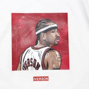 Заказать поиск футболки 2019 NBA Iverson ST FY Basketball Tee White