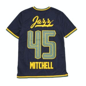 Заказать поиск футболки 2019 Utah Jazz 45 Mitchell NBA B2OTHER Tee