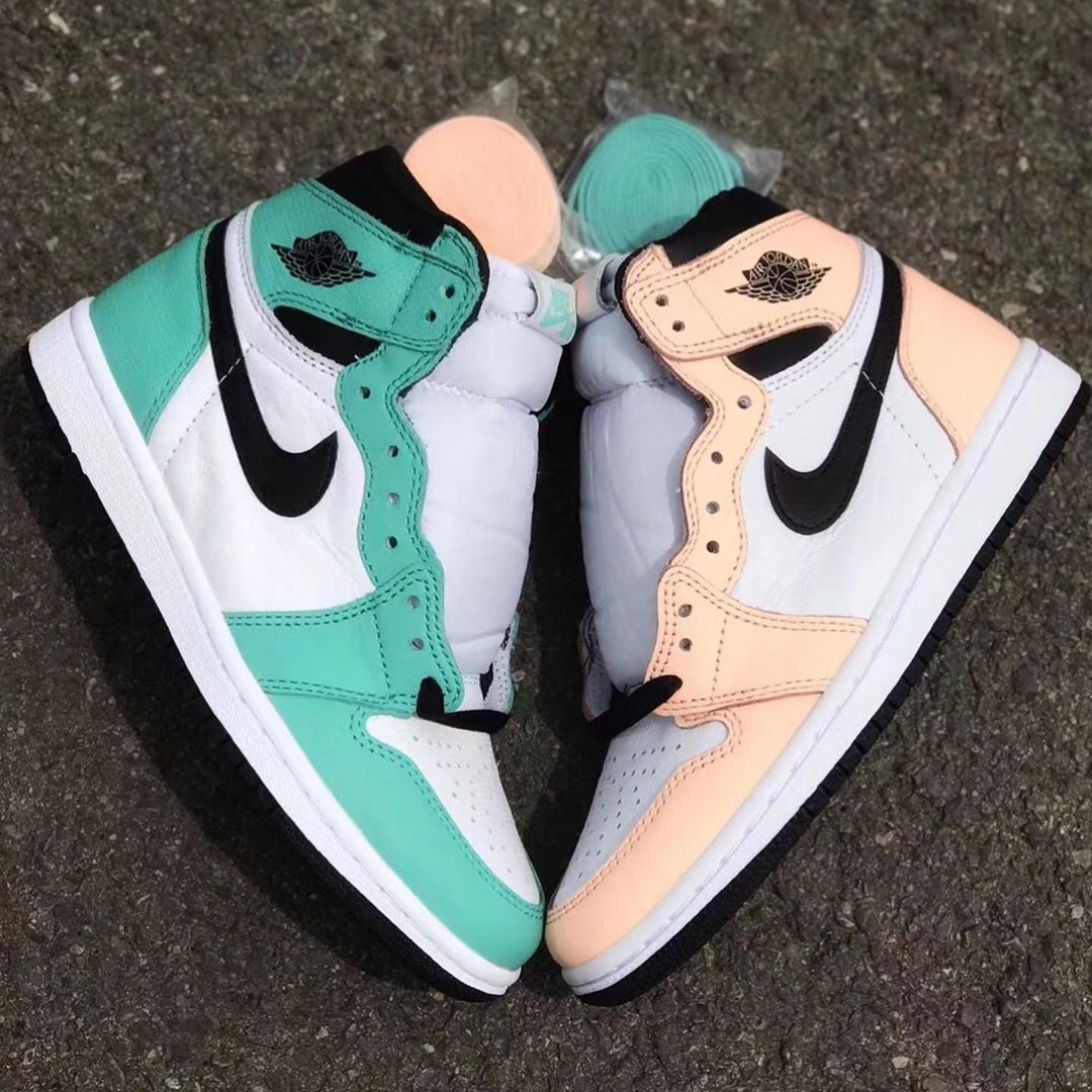 Air Jordan 1 High OG WMNS Peachy-Green