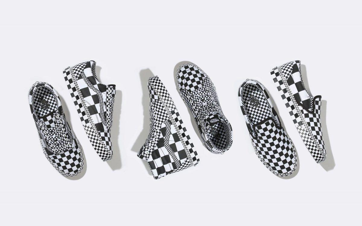 All Over Checkerboard - три классических силуэта от Vans