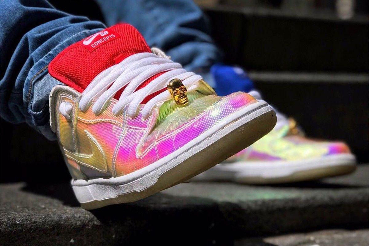 Concepts x Nike SB Dunk Low «Grail» и другие лучшие фото кроссовок из Instagram