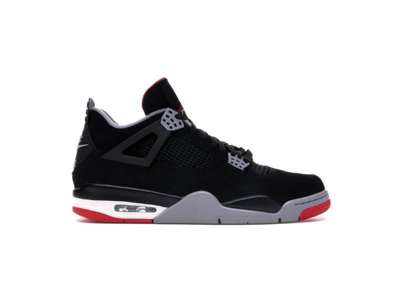 Заказать поиск кроссовок Jordan 4 Retro Bred (2019)