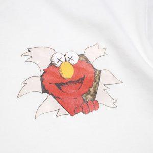 Заказать поиск футболки KAWS x Sesame Elmo Tee White