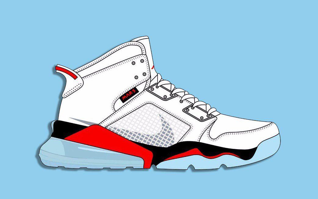 Первый взгляд на Nike Jordan Mars 270 Hybrid