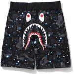 Shark Shorts Space Camo Glow In The Dark