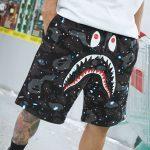 Shark Shorts Space Camo Glow In The Dark-2