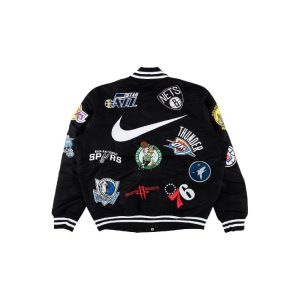 Supreme Nike NBA Teams Warm-Up Jacket Black