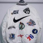 Supreme Nike NBA Teams Warm-Up Jacket White-16