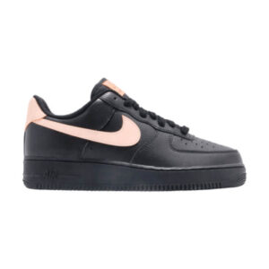 Заказать поиск кроссовок Wmns Air Force 1 07 LE Black Crimson Tint