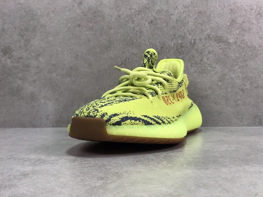 Yeezy Boost 350 V2 Semi Frozen Yellow-6