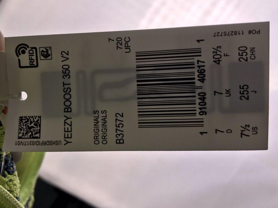 Yeezy Boost 350 V2 Semi Frozen Yellow-8