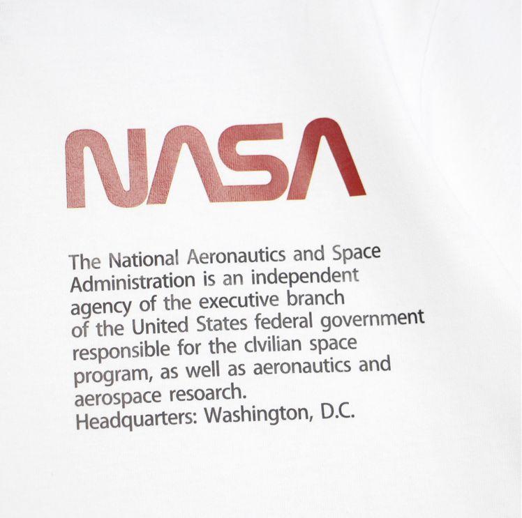 2018 NASA Aerospace Letter Print Tee-3