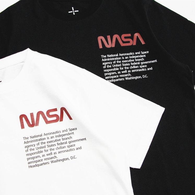 2018 NASA Aerospace Letter Print Tee-7