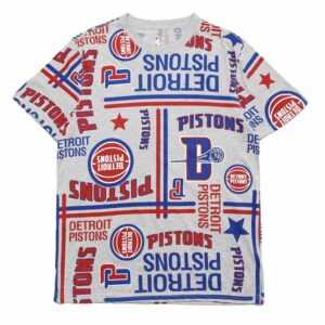 2019 Detroit Pistons Tee NBA Series
