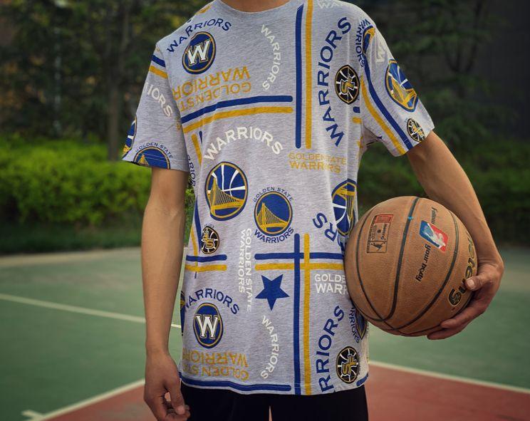 2019 Golden State Warriors Tee NBA Series