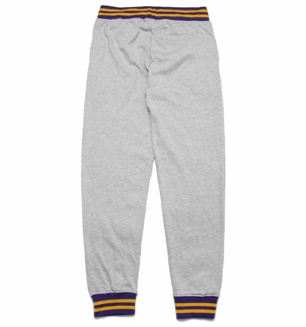 2019 Los Angeles Lakers Pants Grey-1