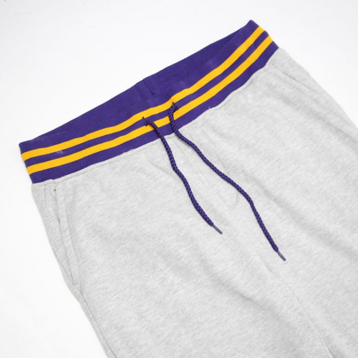 2019 Los Angeles Lakers Pants Grey-2