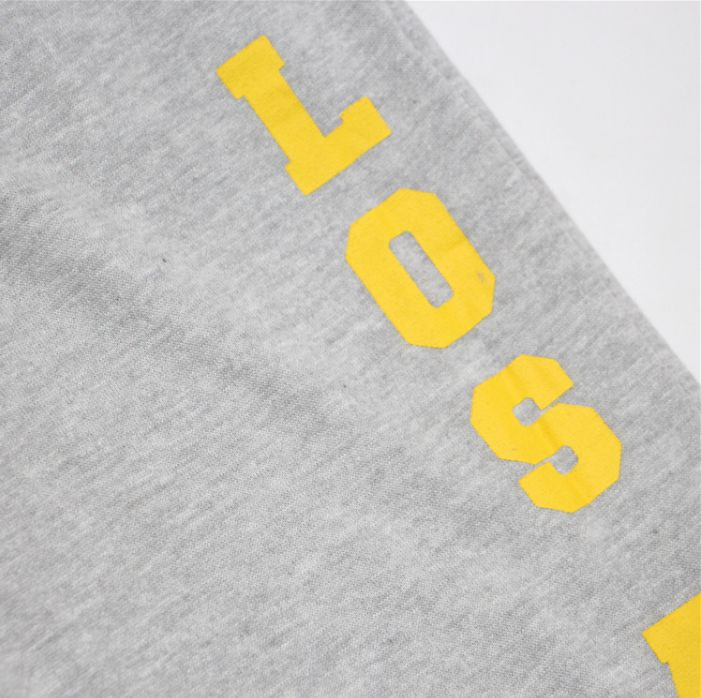 2019 Los Angeles Lakers Pants Grey-4