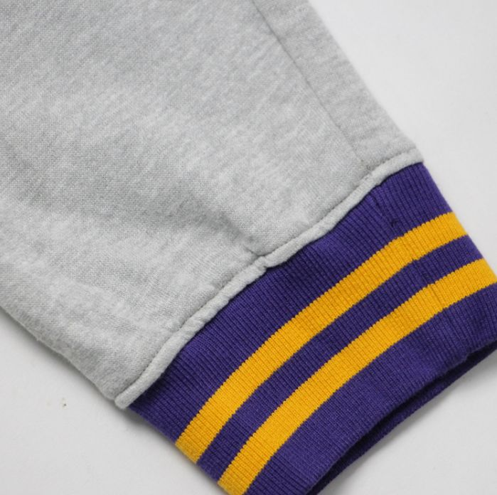 2019 Los Angeles Lakers Pants Grey-5