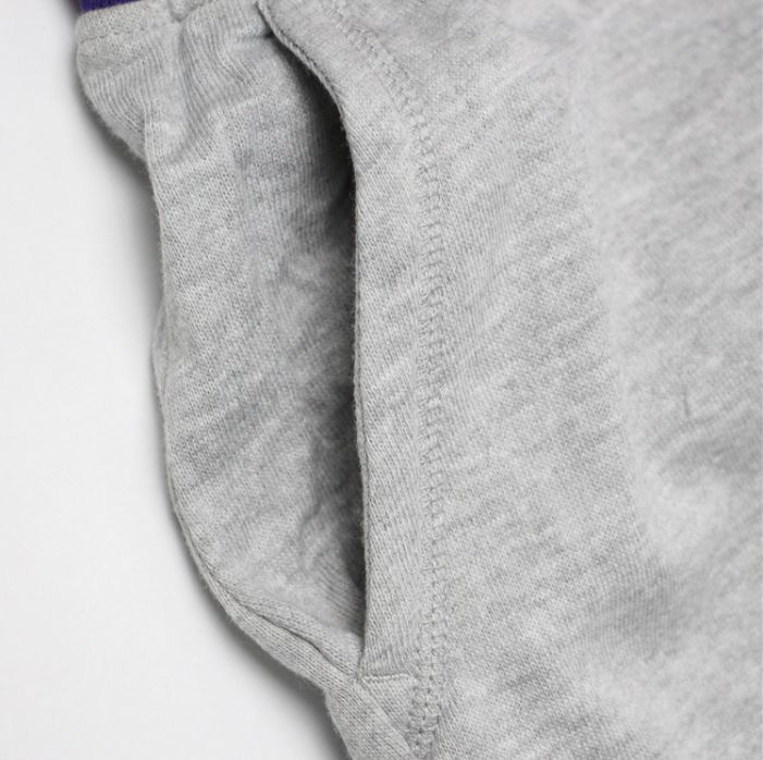 2019 Los Angeles Lakers Pants Grey-6