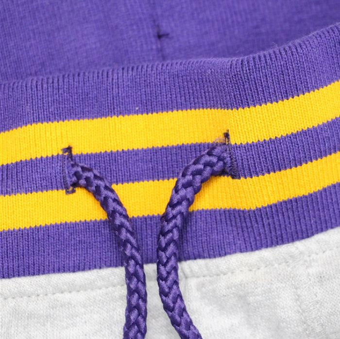 2019 Los Angeles Lakers Pants Grey-8