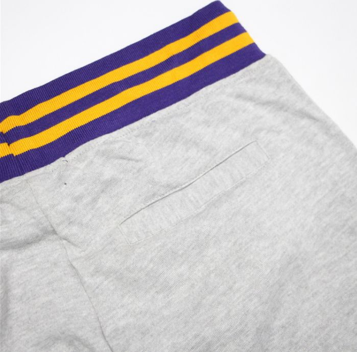 2019 Los Angeles Lakers Pants Grey-9