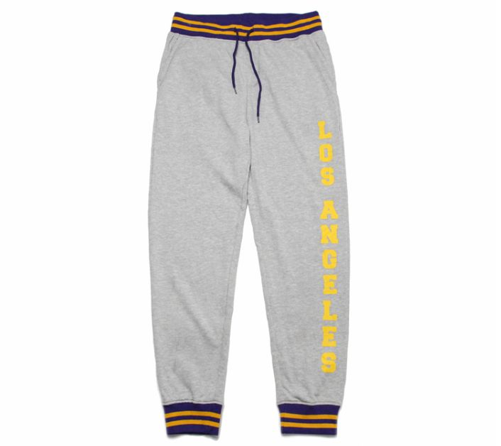 2019 Los Angeles Lakers Pants Grey