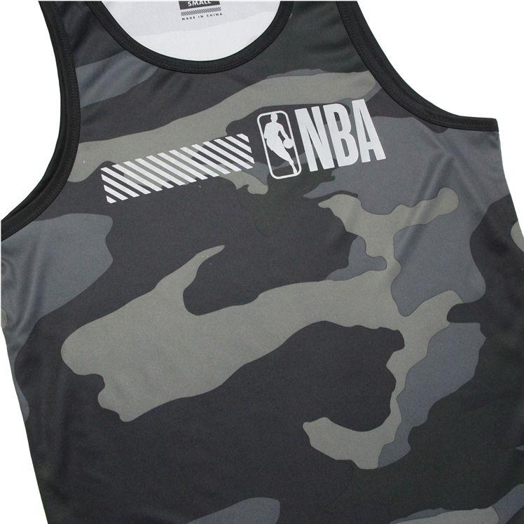 2019 NBA Khaki 3M Jersey-2