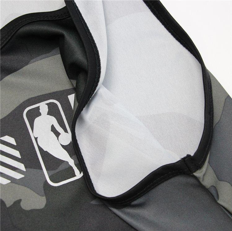2019 NBA Khaki 3M Jersey-3
