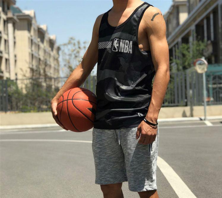 2019 NBA Khaki 3M Jersey-9