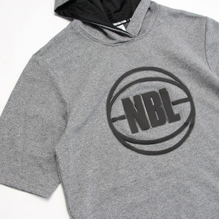 2019 NBL Training Hoodie White-2