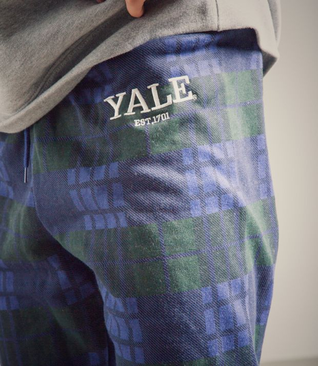 2019 YALE Scotland Blue Pants-11