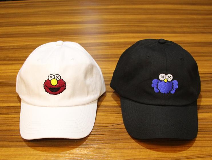 Бейсболка KAWS x Sesame Street #1-7