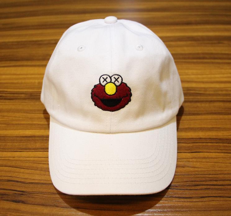 Бейсболка KAWS x Sesame Street #1-9