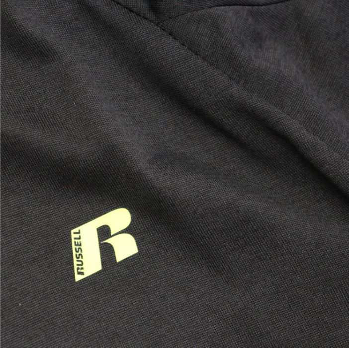 Big & Tall Russell Dry Power Tee Black-5
