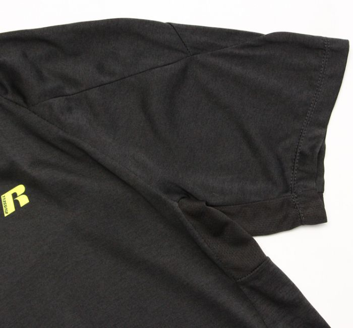 Big & Tall Russell Dry Power Tee Black-6